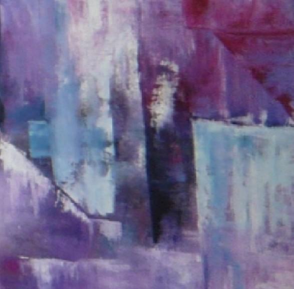 Impression violette