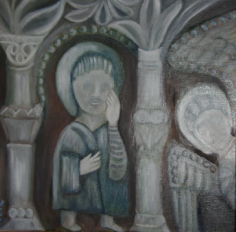 Un ange et un apôtre de Saint Genis