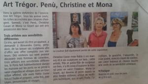 Le Télégramme 12 08 2014 Galerie Linkin