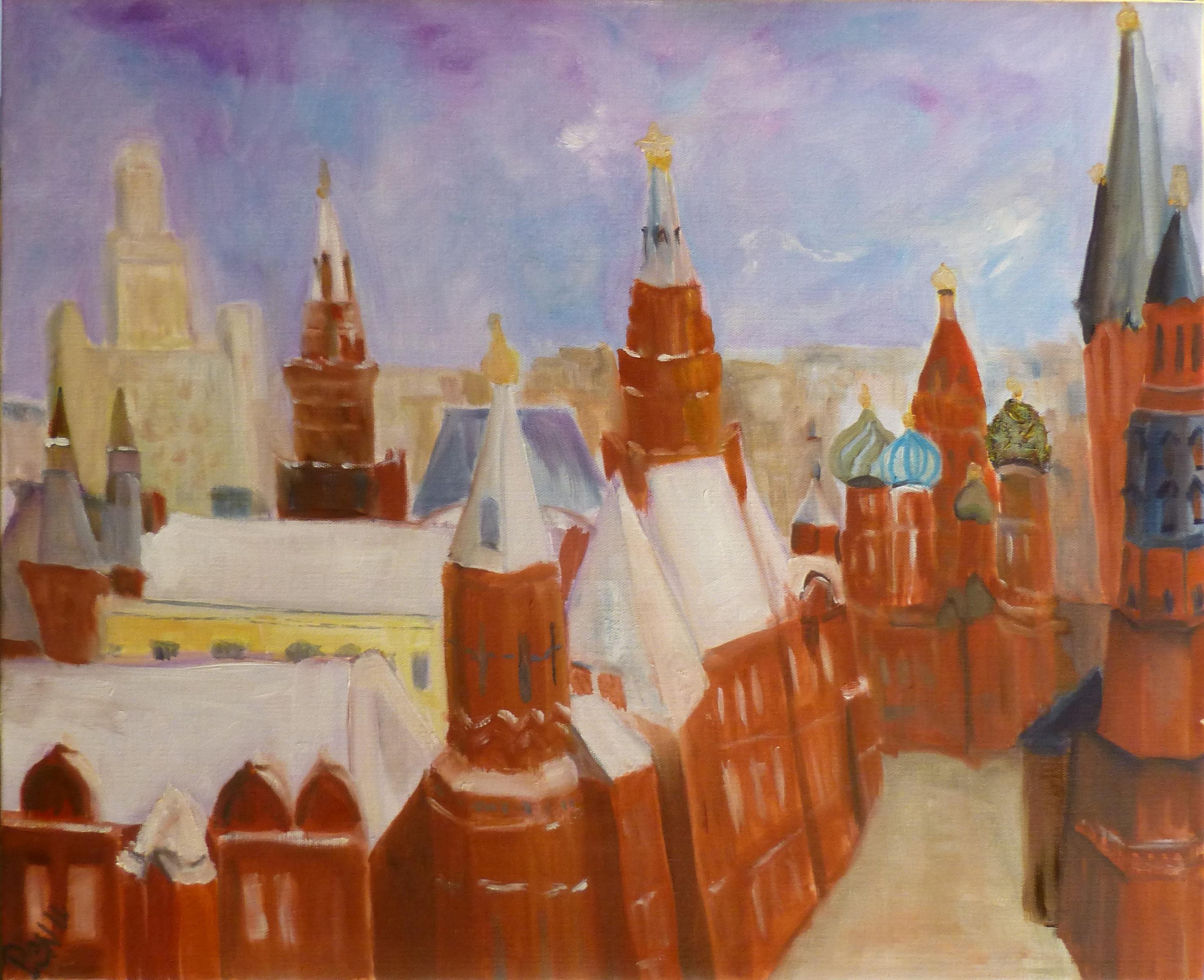Toits de Moscou