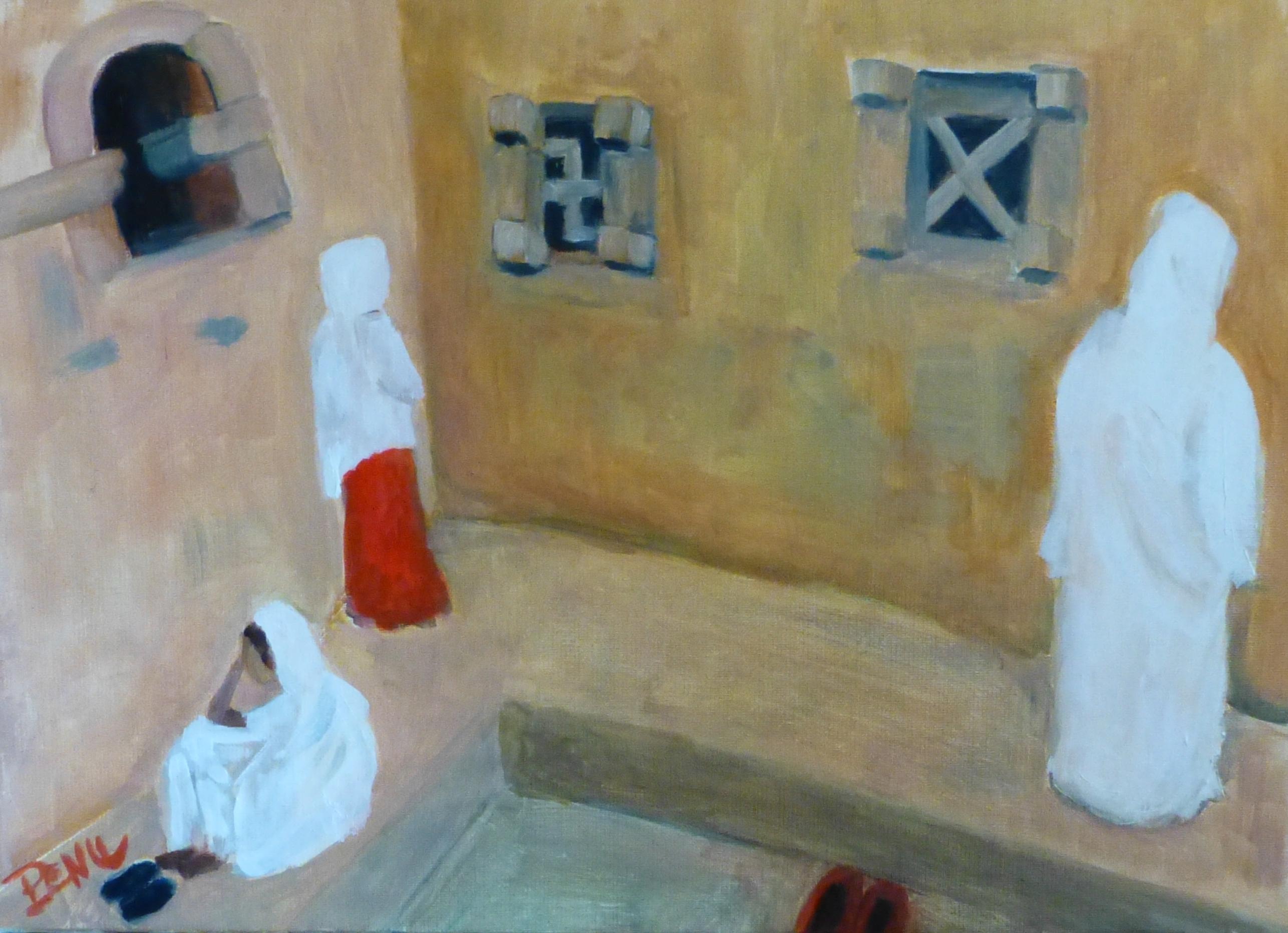 En prière à Lalibela
