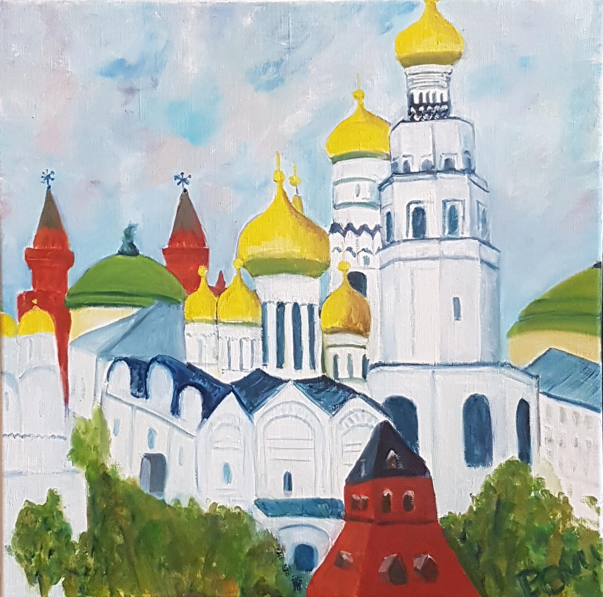 Cathédrales au Kremlin