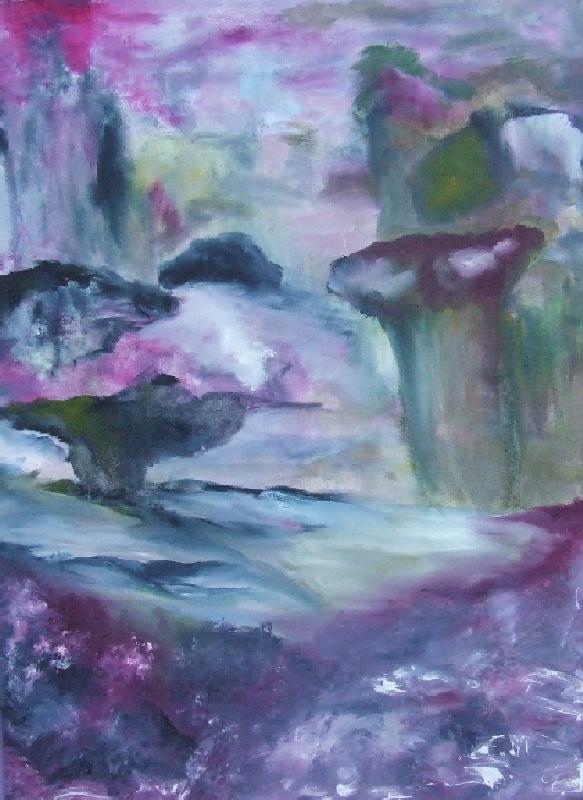 Explosion violette