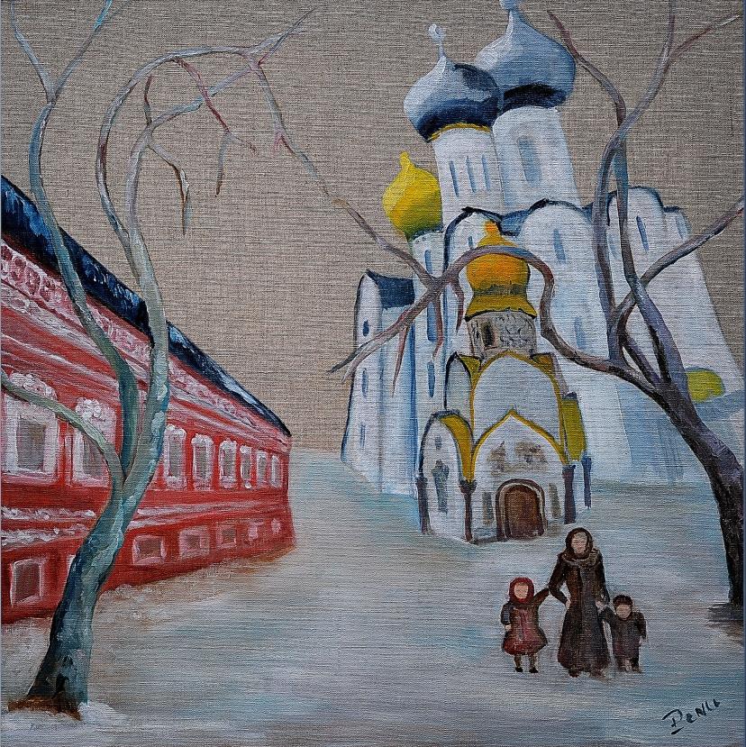 Départ de Novodievitchi
