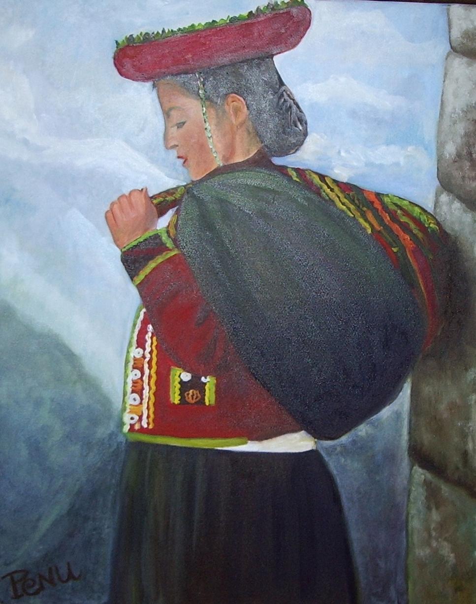 Femme péruvienne