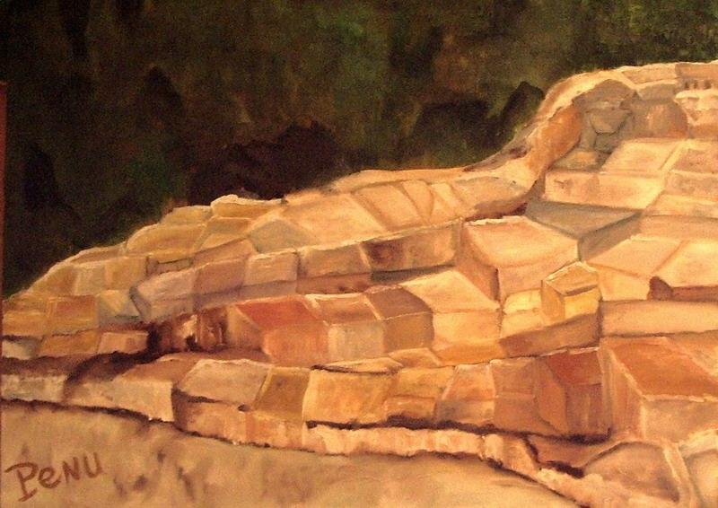 Salines de Maras au Perou