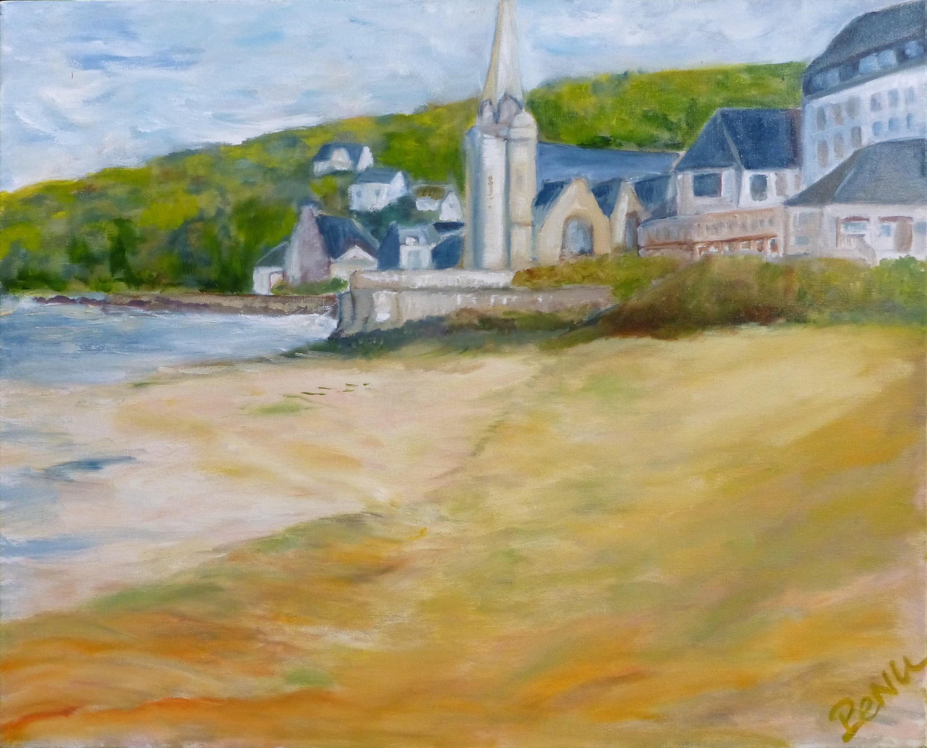 La plage à Saint-Michel