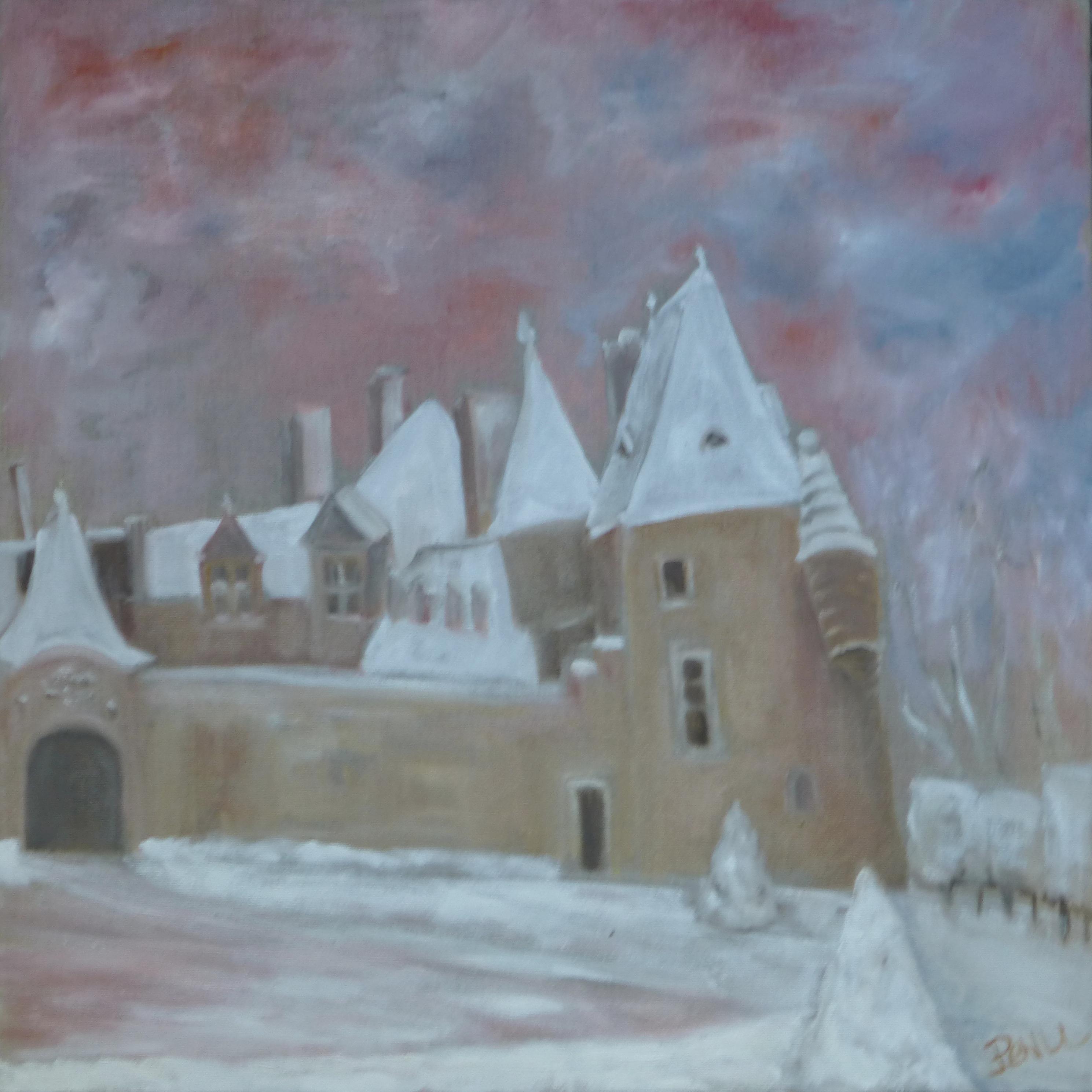 Rosanbo sous la neige