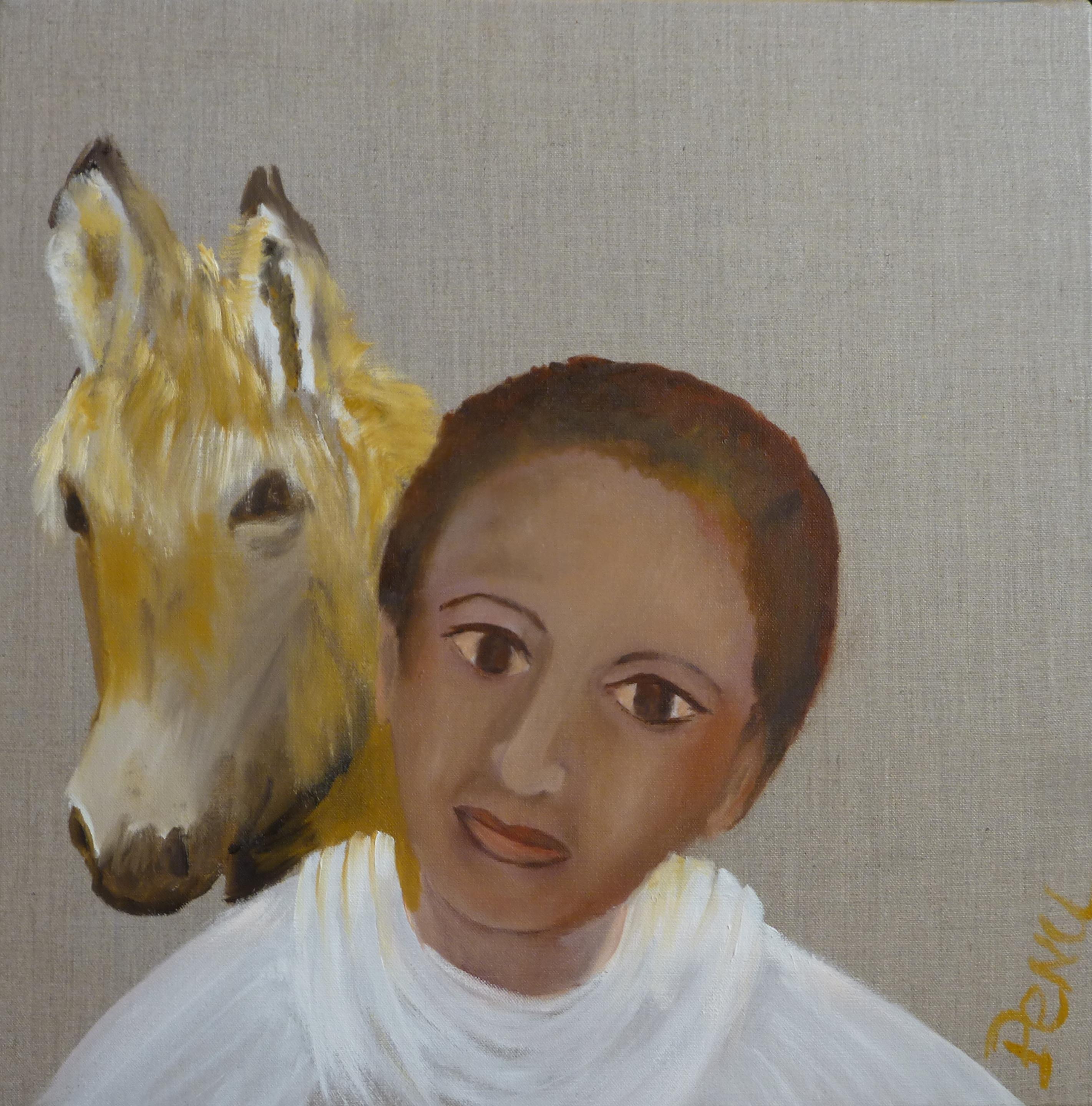 Garçon à l'âne