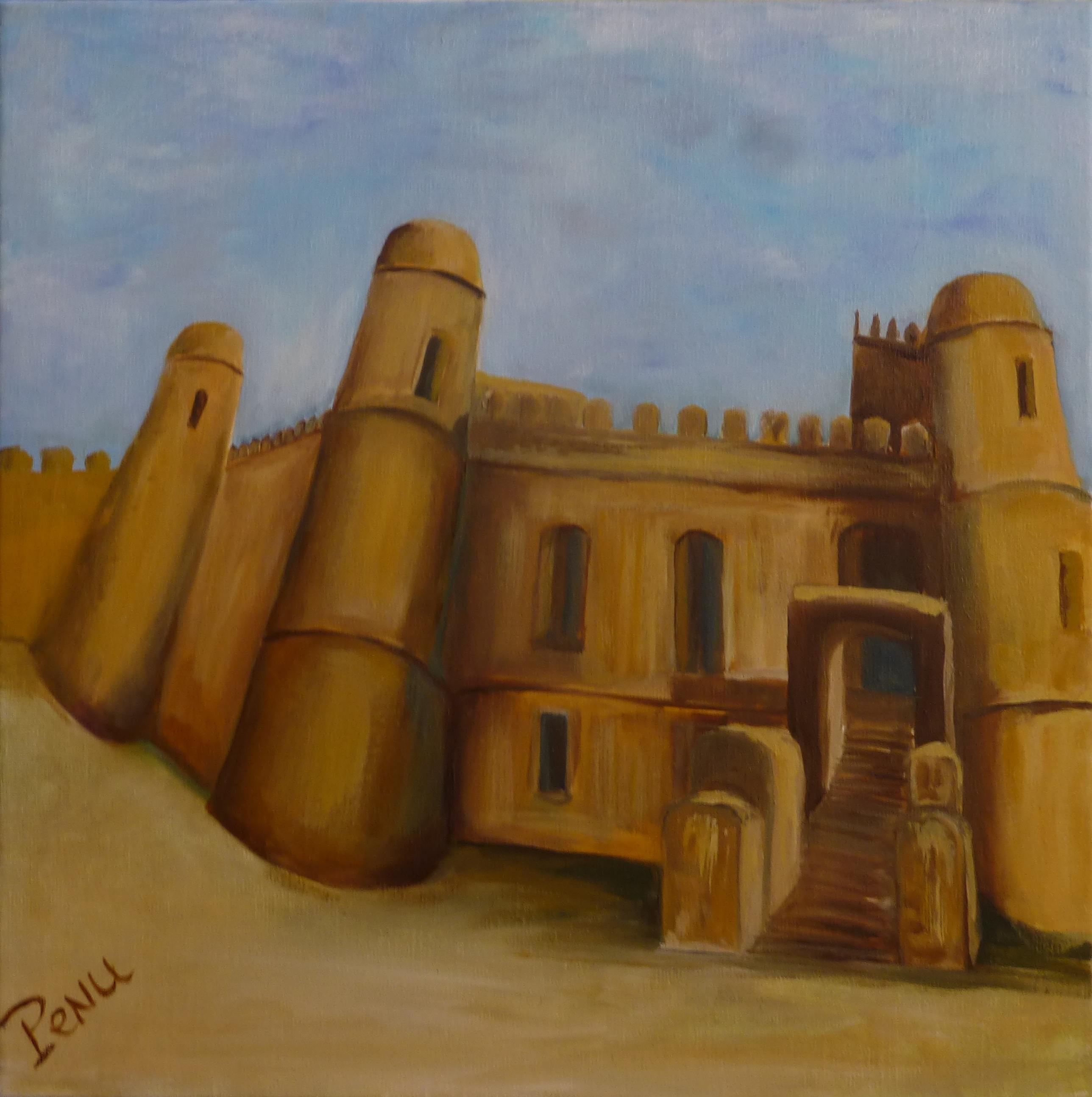 Palais à Gondar