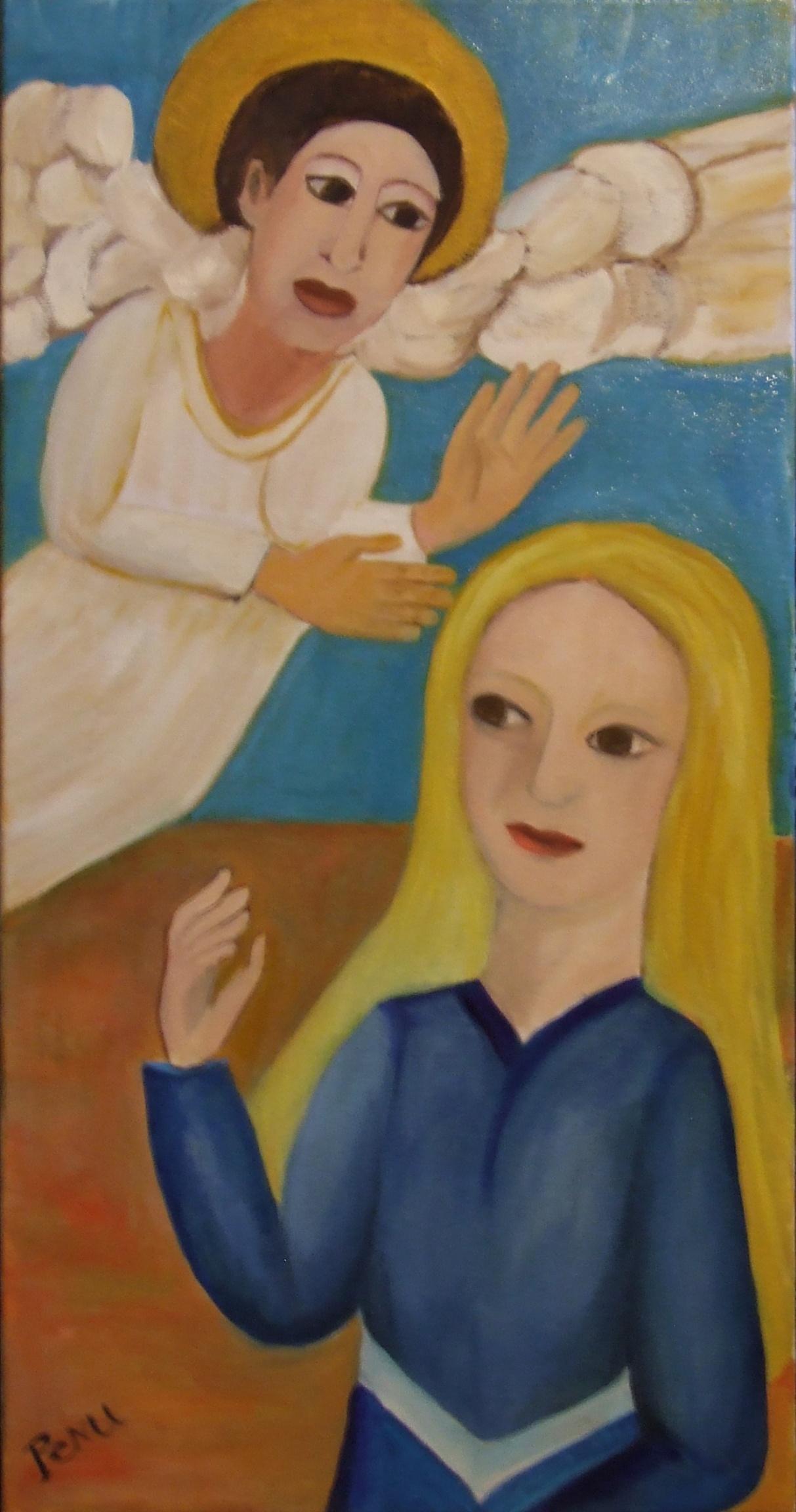 La visite de l'ange