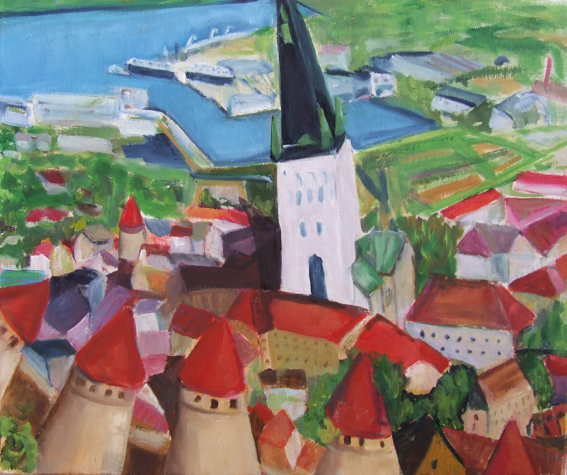 Vue sur Tallinn