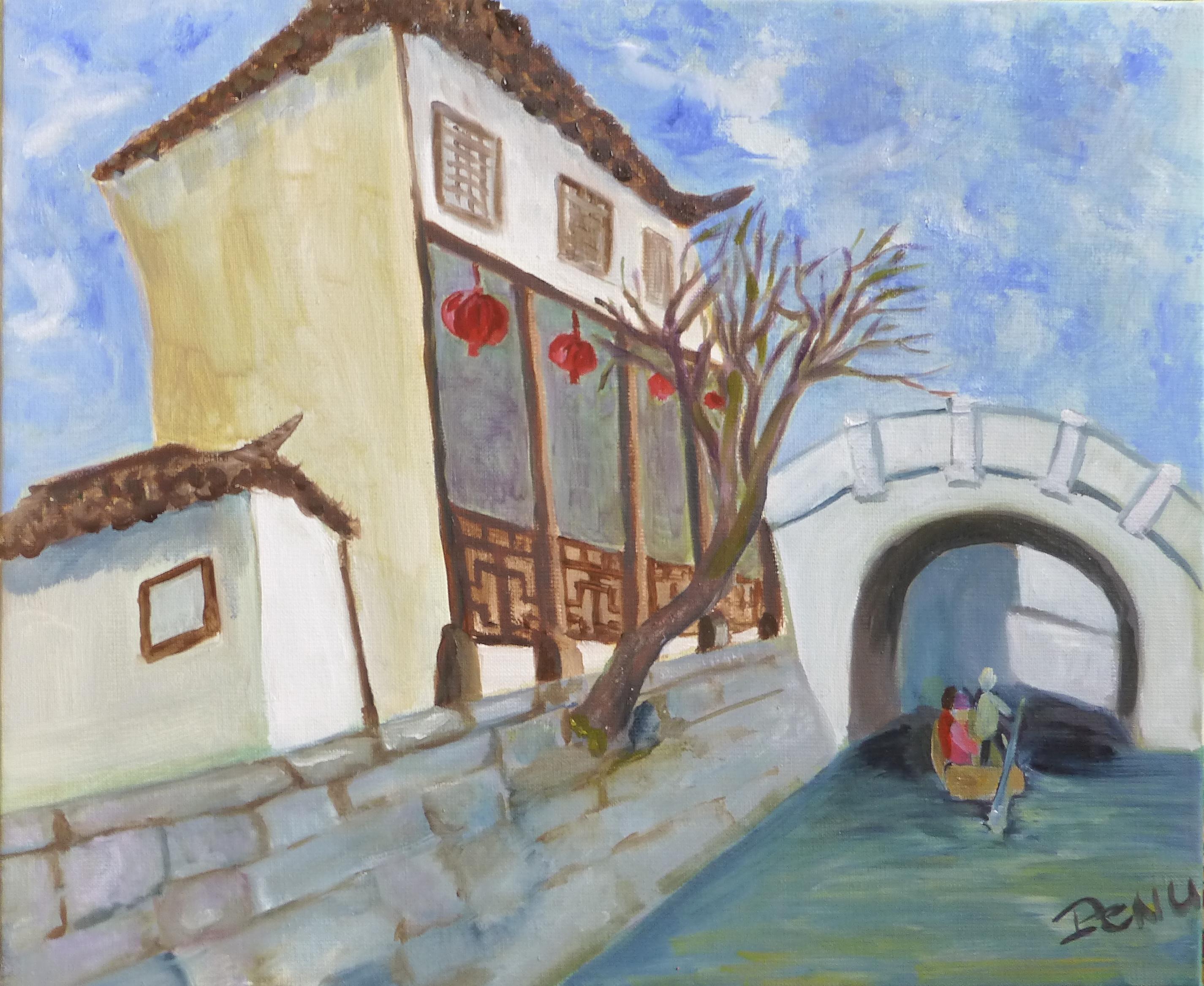 Canal à Suzhou