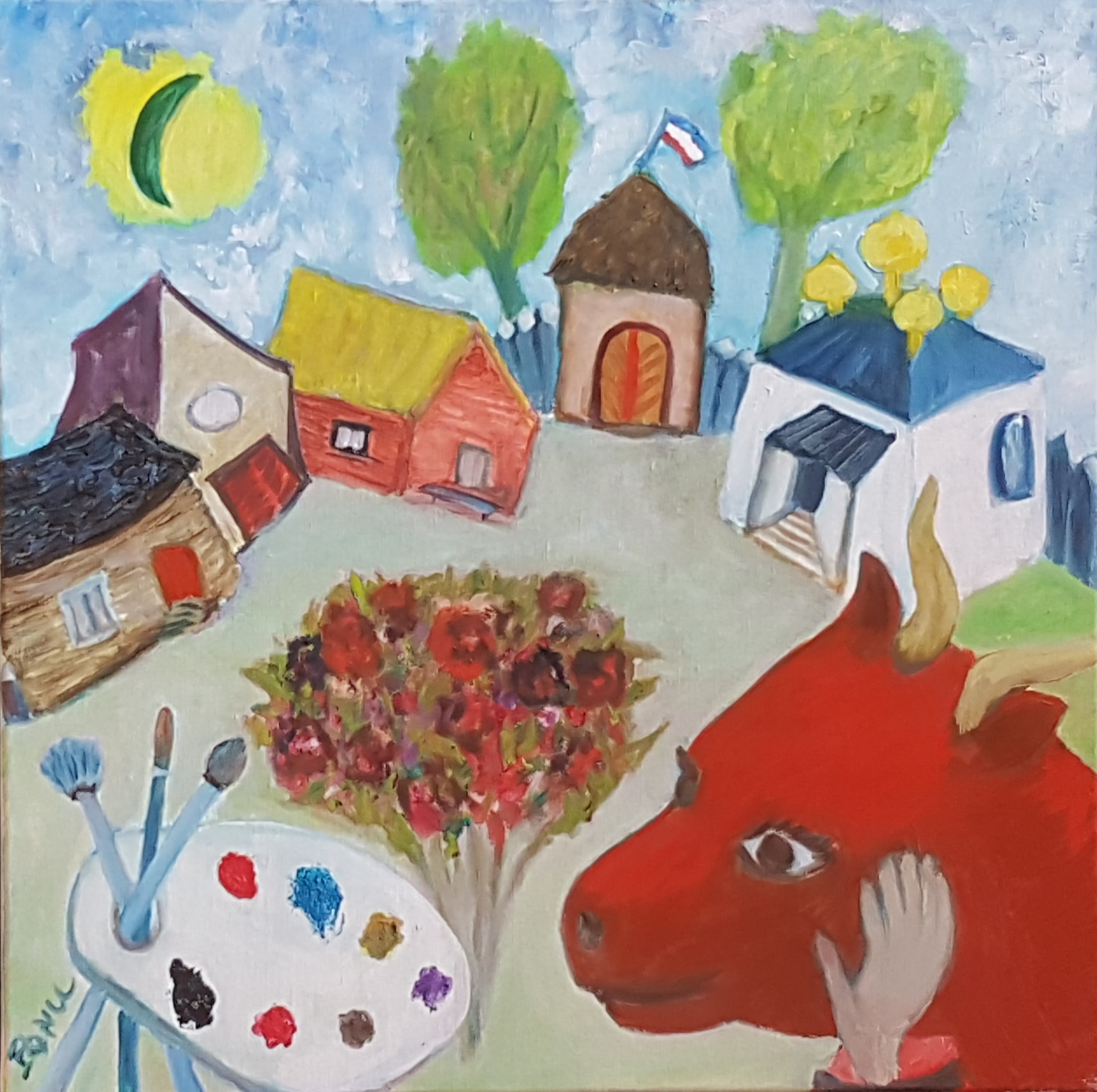 En hommage à Chagall
